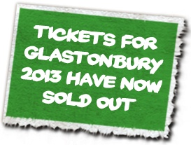 Glastonbury Music Festival - check in May for more tickets