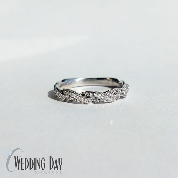 Best Wedding Bands Images On Pinterest White Gold Wedding