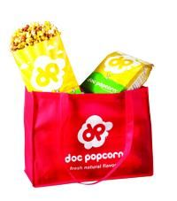 Doc Popcorn... natural, yummy affordable gift