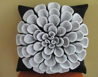 Decorative Pillow Flower Pillow Pattern DANIELLA by SewYouCanToo