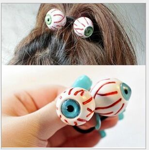 eyeball elastic hair ring Headband Hair rubber for Women hair Accessories Hair Ornaments Free Shipping FD187-in Hair Accessories from Apparel & Accessories on Aliexpress.com | Alibaba Group