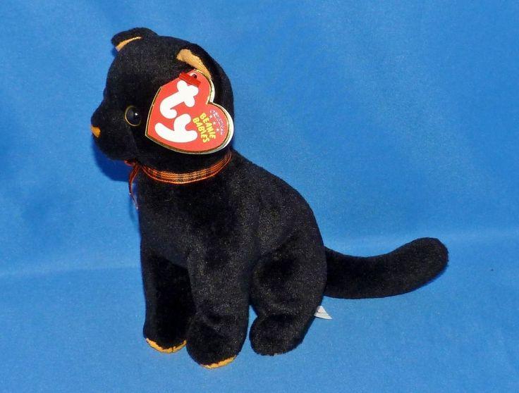 Black Cat Beanie Baby Value