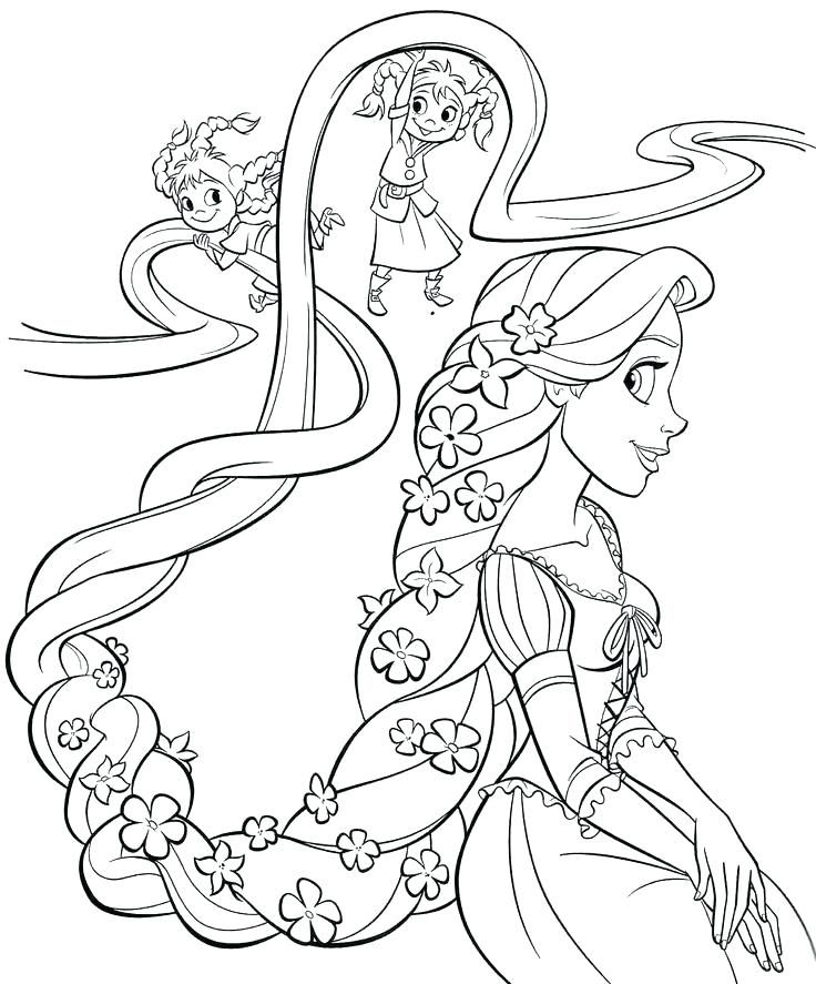 24+ Supercoloring rapunzel ideas
