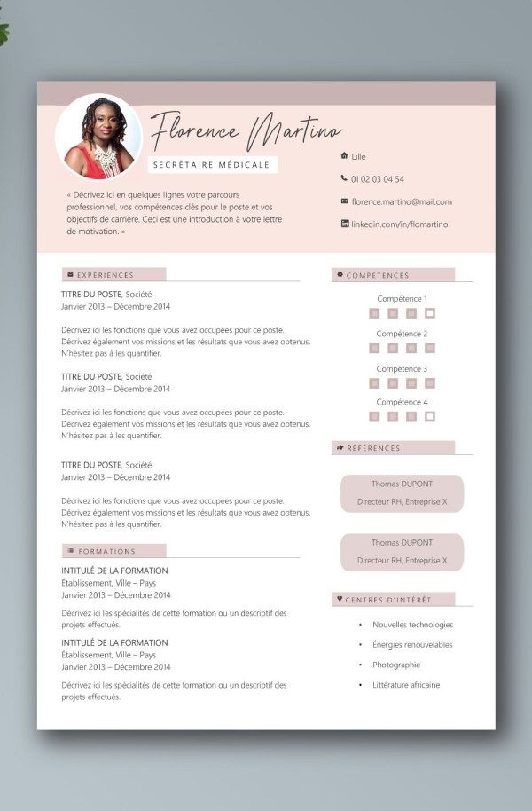 Pin By Febrina Melinda On Cv Template Cv Template Cv Design Resume Design