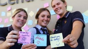 Sydney's St Catherine's School students are taught how to focus on what goes right.