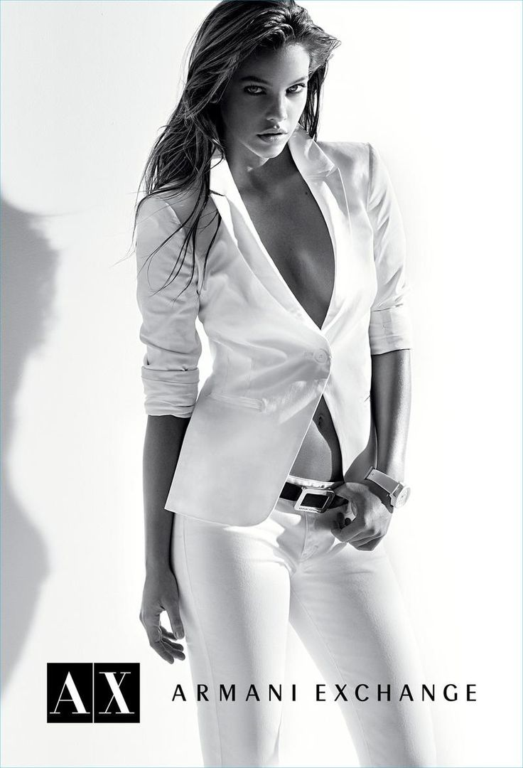 Barbara Palvin, Armani Exchange - A/X  Repinned by www.fashion.net