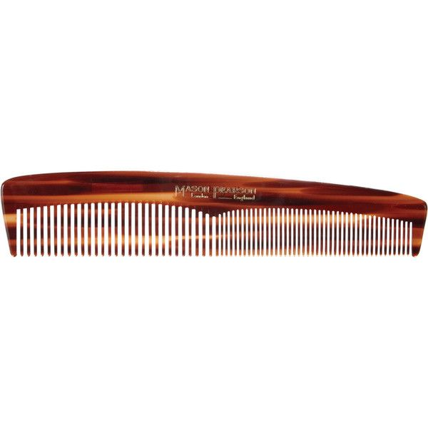 Mason Pearson Styling Comb ($26) ❤ liked on Polyvore featuring beauty products, haircare, hair styling tools, brushes & combs, beauty, beauty prod., colorless, filler, seamless comb and hair brush comb