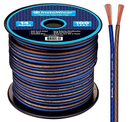 Pyle PSC18100 18-Gauge 100-Feet Spool of Speaker Zip Wire Sound Around