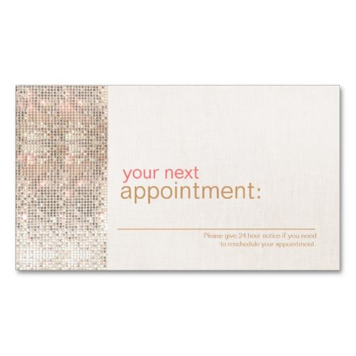 293 best Appointment Business Card Templates images on Pinterest - sample appointment card template