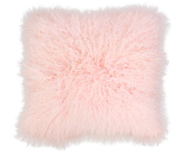 weiches lammfell kisen in rosa fr die candy kche - Kuche In Pink