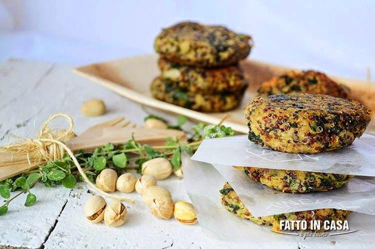 Fatto in casa è più buono!: Hamburger di Quinoa e Spinaci