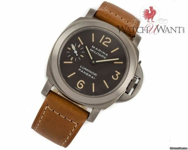 Panerai Marina Militare Luminor Marina Historique Special Edition Only 200 Pieces Tobacco Brown Trit