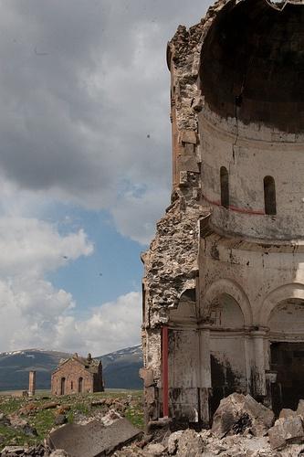 Churches of Ani, near to Kars, Turkey.  A wonderful walled site; the former capital of Armenia