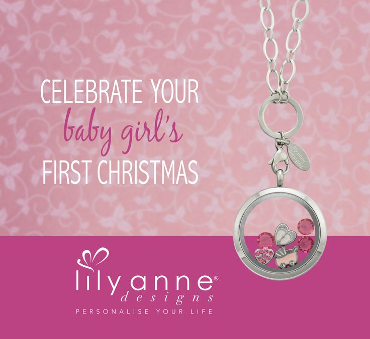 Celebrate your little princess with a Personalised Locket from Lily Anne Designs