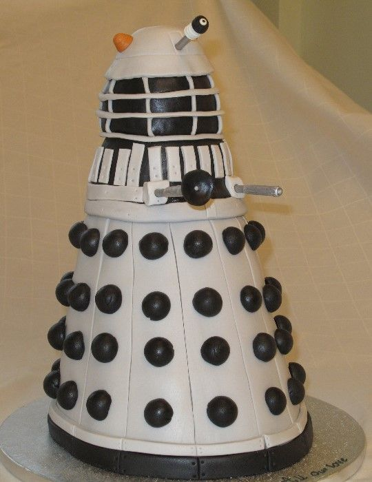 Daleks of the Day: Dalek Cake of the Week
