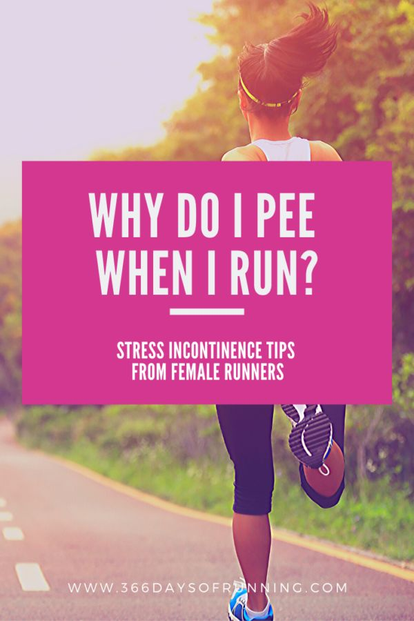 Why do I pee when I run? | How you can treat stress ...