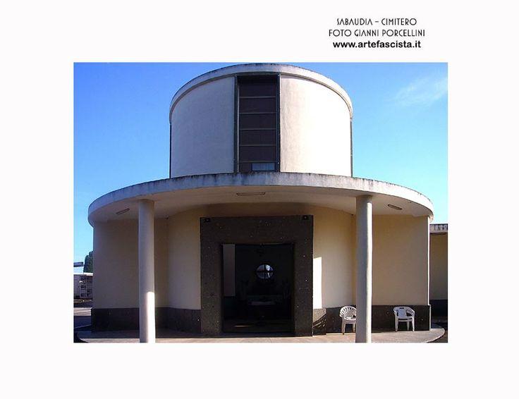 Sabaudia - Cimitero e Cappella