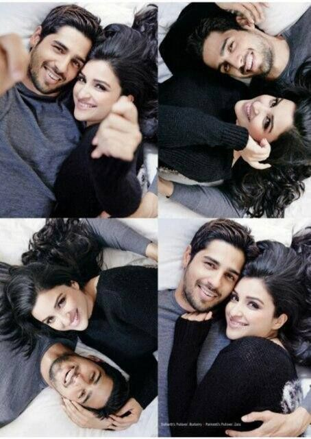 Sidharth Malhotra and Parineeti Chopra for Filmfare - Sidharth Malhotra