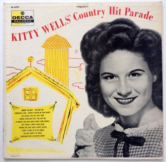 vintage country record