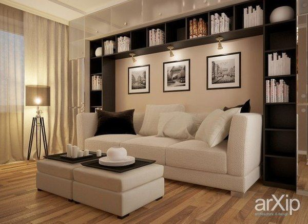 Living room (Гостиная, студийная комната) №17