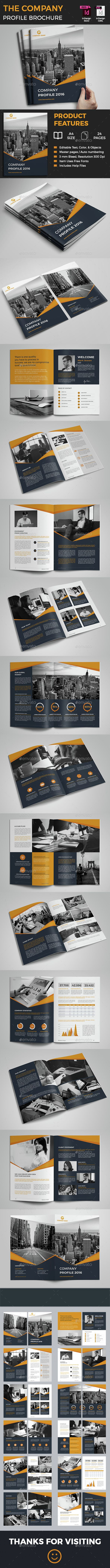 The Company Profile Brochure Template InDesign INDD. Download here: http://graphicriver.net/item/the-company-profile/15183553?ref=ksioks