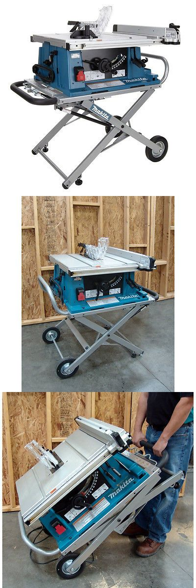 Table Saws 122835: Makita 2705X1 10 In Portable Contractor Table Saw With Table Saw Stand -> BUY IT NOW ONLY: $799.99 on eBay!