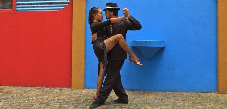 Tango en El Caminito, Buenos Aires