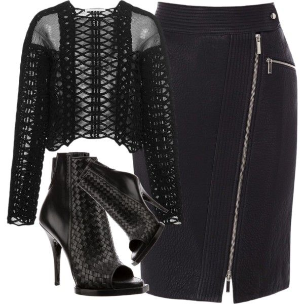 Untitled #1634 by linneabryngnas on Polyvore featuring Jonathan Simkhai, Karen Millen and Givenchy