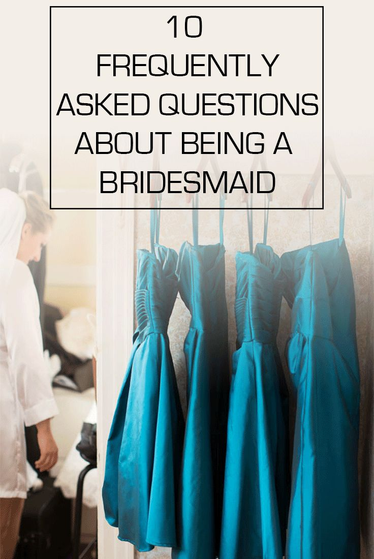 Who pays for what? Who hosts what parties? Find out all the bridesmaid etiquette answers that you've been dying to know!