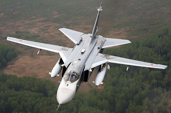 Sukhoi Su-24 inflight