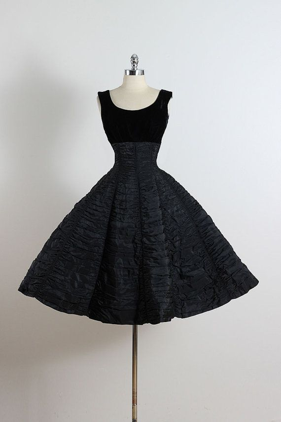 25% SALE Vintage 50s Dress Suzy Perette by millstreetvintage