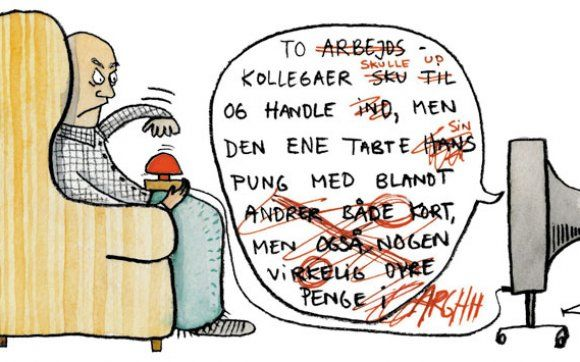 Sande ord om sproglig inkomptence i danske medier