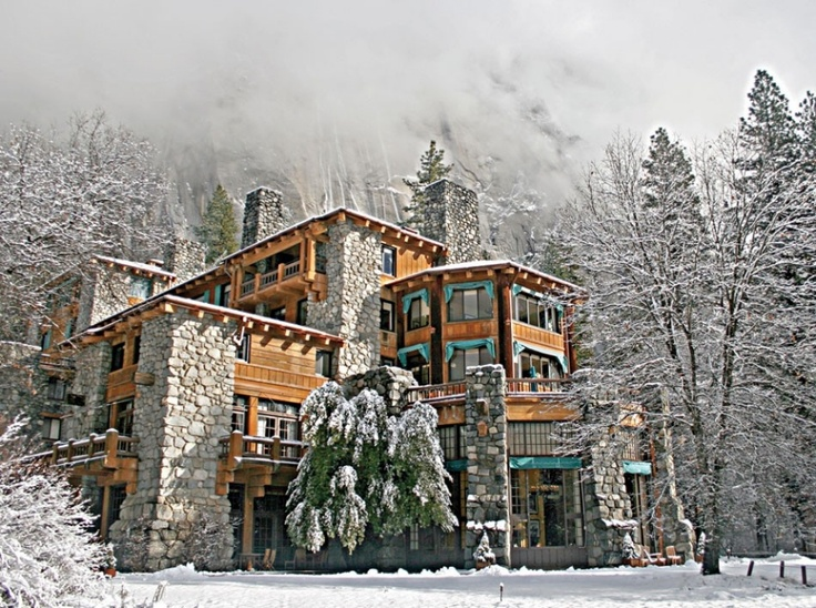 The Ahwahnee  Yosemite National Park, California  DATE ESTABLISHED: 1927. HISTORIC DETAIL: In 1987 it was listed as a National Historic Landmark. NOTABLE GUESTS: Queen Elizabeth II, President John F. Kennedy, Brad Pitt and Jennifer Aniston, Greta Garbo.