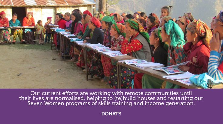 Seven Women charity empowers women in Nepal with training and literacy...