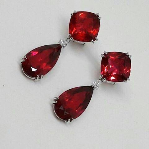 PAOLO PIOVAN Ruby Earrings