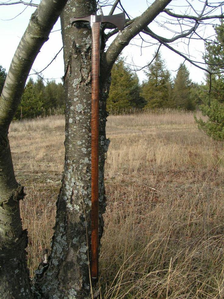 Fokos Valaska Hammer Poll Tomahawk Walking Hiking Stick