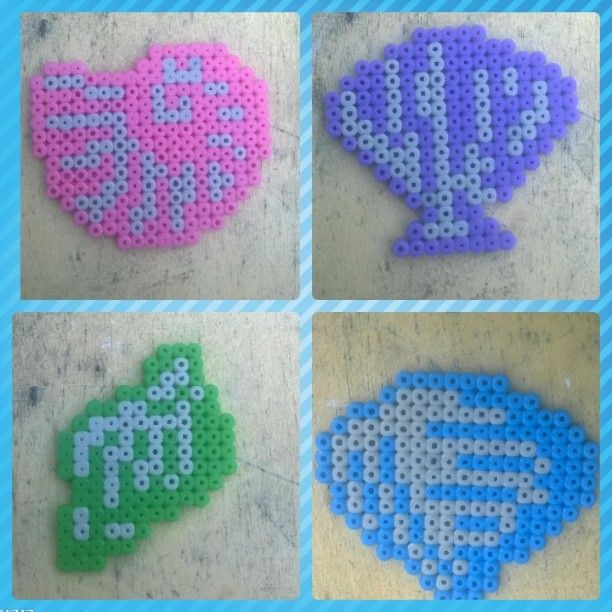 Shells perler beads by engelina_c
