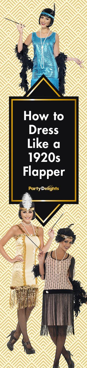 Find out how to dress like a flapper with our 1920s fancy dress ideas. Includes cheap and easy ways to put an impressive costume together!