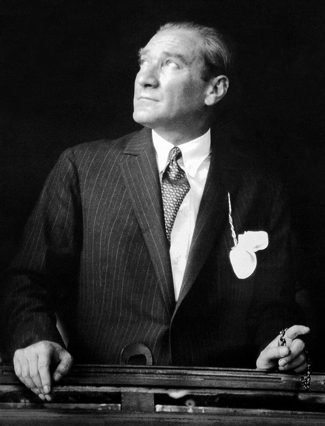 """SOVEREIGNTY BELONGS UNCONDITIONALLY TO THE PEOPLE."" M.K.Atatürk."
