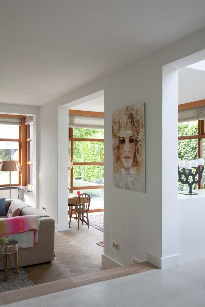 Woonkamer / speelkamer - Interieurinrichting woonhuis Bergeijk - Hal-2 Ruimtevormgevers