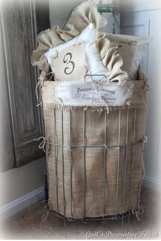 508 Best Images About Burlap Ideas On Pinterest Burlap