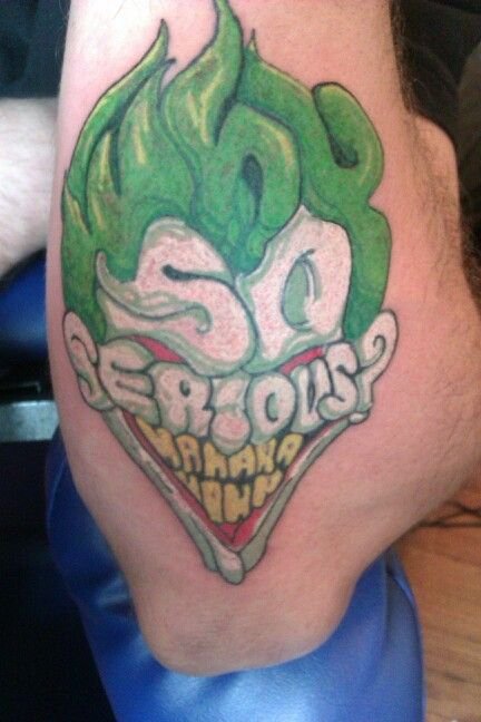 best 20 why so serious tattoo ideas on pinterest joker face joker face tattoo and first joker. Black Bedroom Furniture Sets. Home Design Ideas
