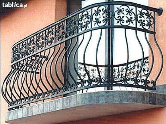 Balustrada balkonowa balustrady bramy ogrodzenia