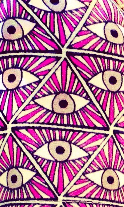 Mara Hoffman, evil eye.