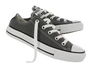 Converse low cuts, in charcoal, size 9?  Not sure, would have to try on first.