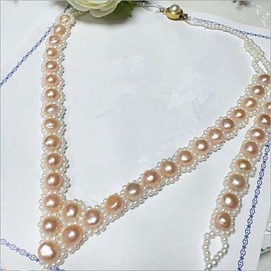Freshwater pearl necklace bracelet 4916782 2017 – $26.99