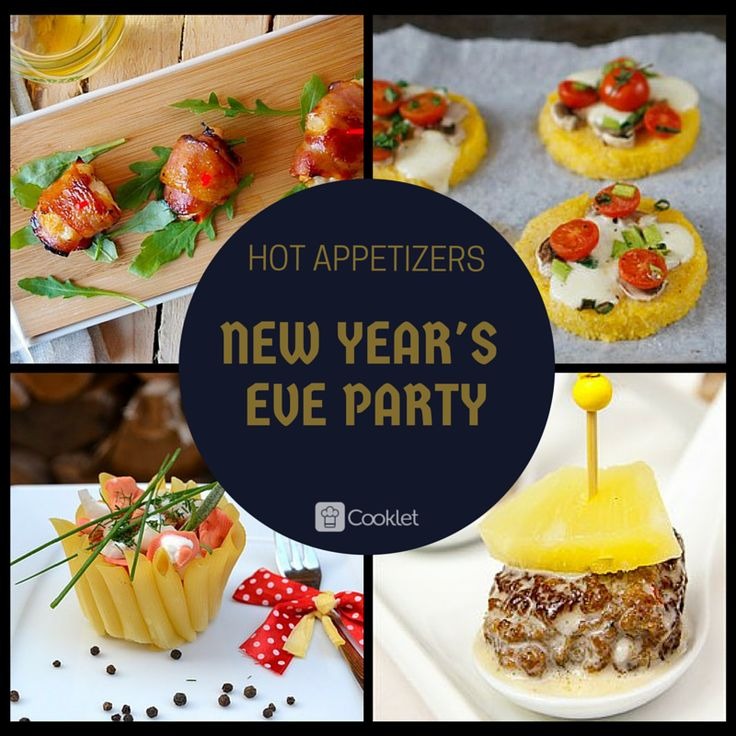Keep the New Year's Eve party going with easy hot appetizers!