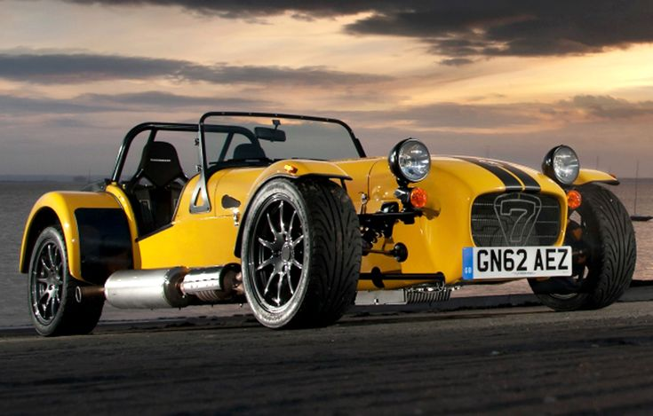 Caterham Supersport R - London City Circuit or Silverstone? (Video)