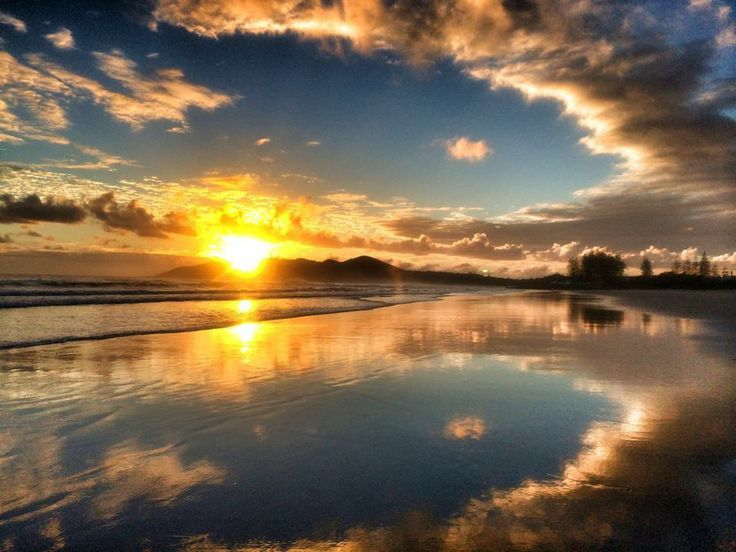 Last week's Equinox sunrise in Byron Bay