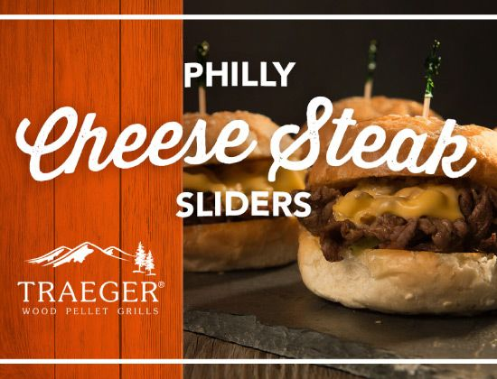 Traeger Philly Cheese Steak Sliders
